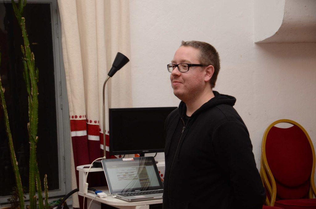 Mark ist in der Vereinsleitung von FreeFutureForces